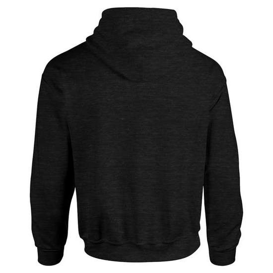 Two tone pullover hoodie   black kelly   back view    hoodbeast