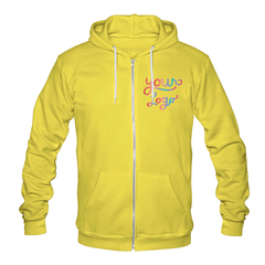 Zip up hoodie   american apparel