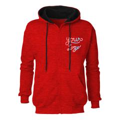 Two tone zip up hoodie   hoodbeast